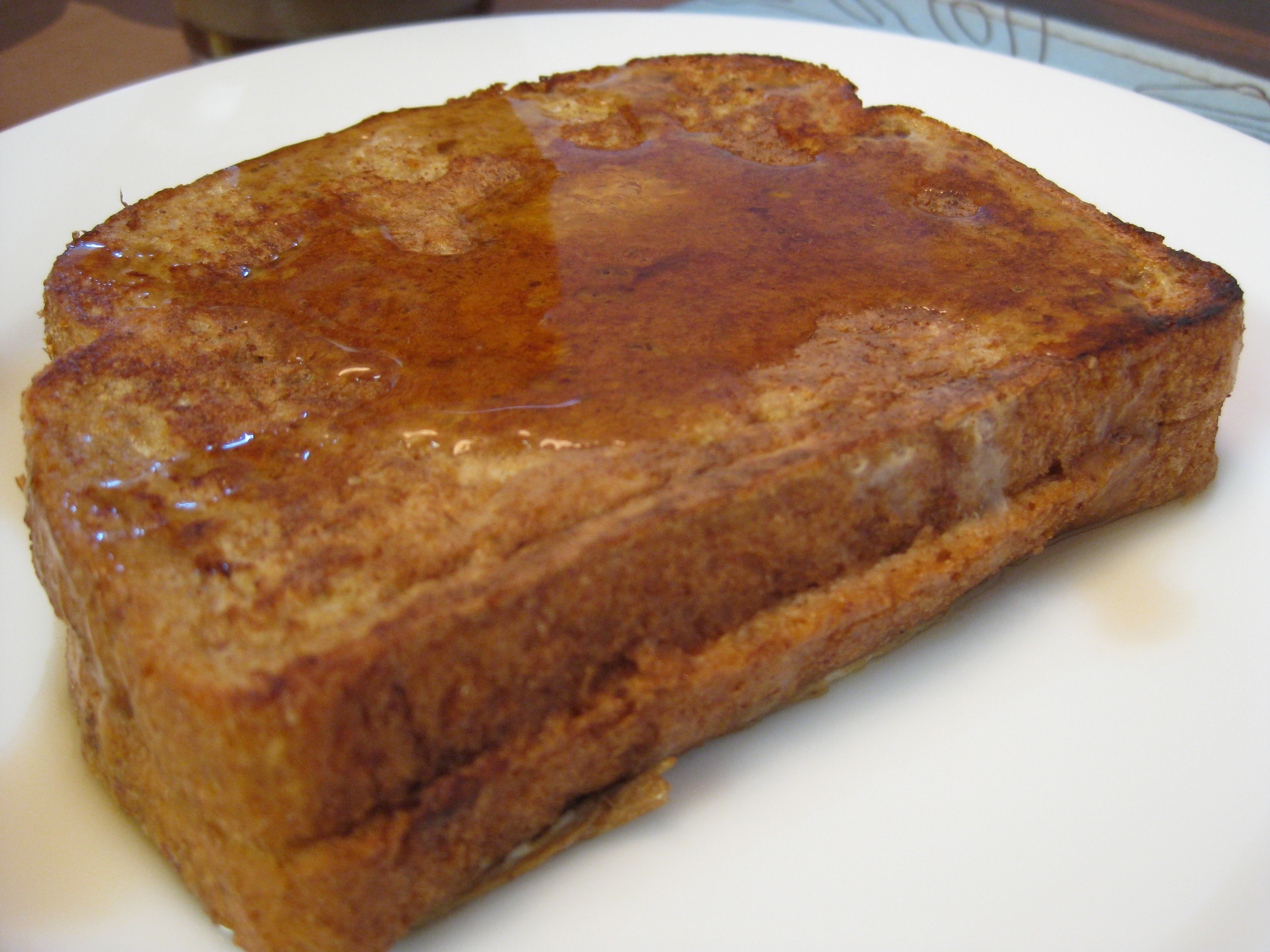 Almond Butter-Stuffed French Toast