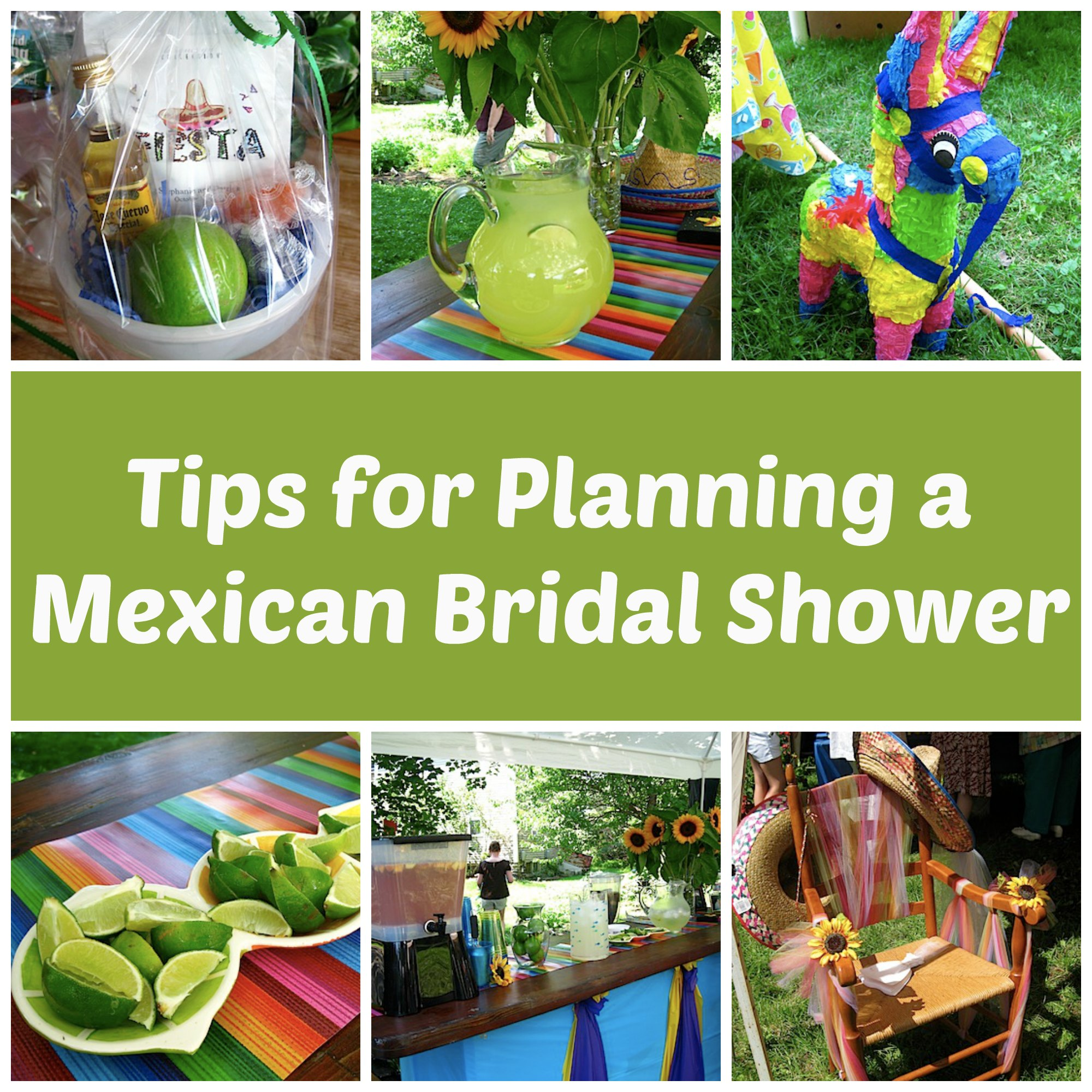tips for planning a mexican bridal shower carrots n cake