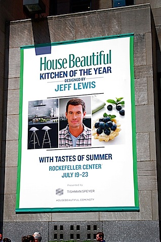 Plaza And Featured An All New Design By Jeff Lewis Star Of Bravo S Flipping Out The Kitchen Of The Year Basically Brings The Pages Of House Beautiful