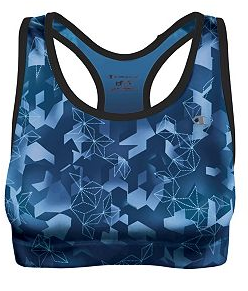 """23ad55617 Pros  Fabric is more """"high-tech"""" and supportive than the first two sports  bras. It s sweat-wicking"""