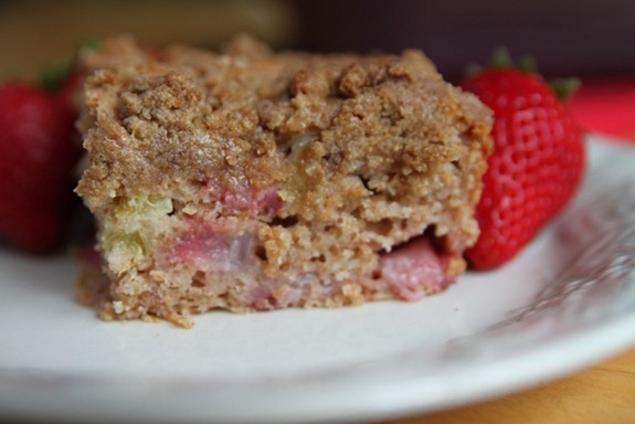 Grandma Moyer's Rhubarb And Strawberry Coffee Cake Recipes ...