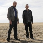 Walter White (Bryan Cranston) and Jesse Pinkman (Aaron Paul) - Breaking Bad - Season 5, Episode 1 - Photo Credit: Ursula Coyote