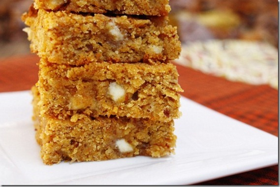 butternut white chocolate chip bars