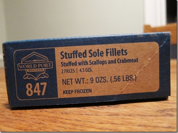 Stuffed Sole Fillets