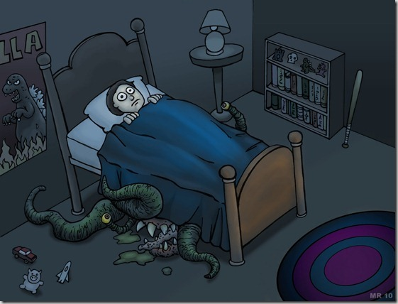 bed_monster