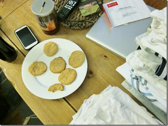 cookies and laundry