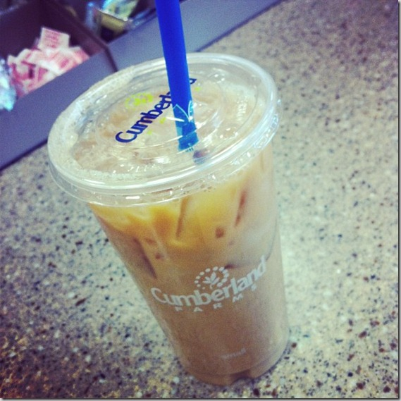 iced coffee cumberland farms