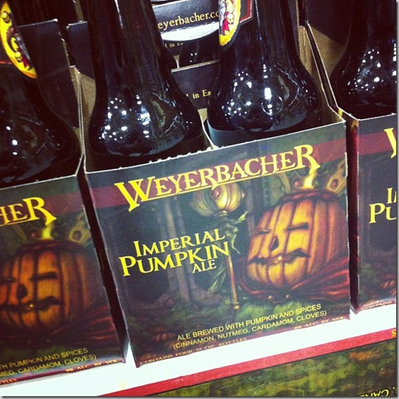 imperial pumpkin beer