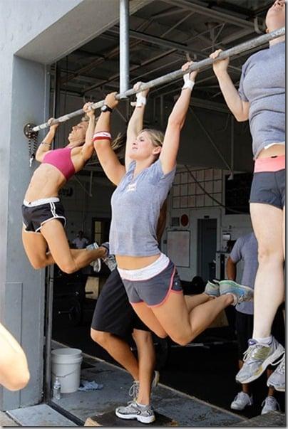 kipping pull-ups