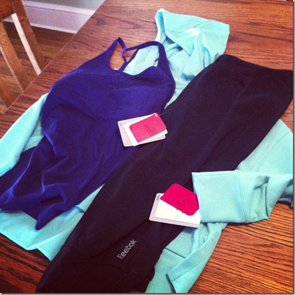 reebok yoga gear
