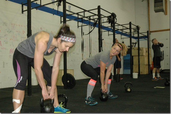 tape action during WOD