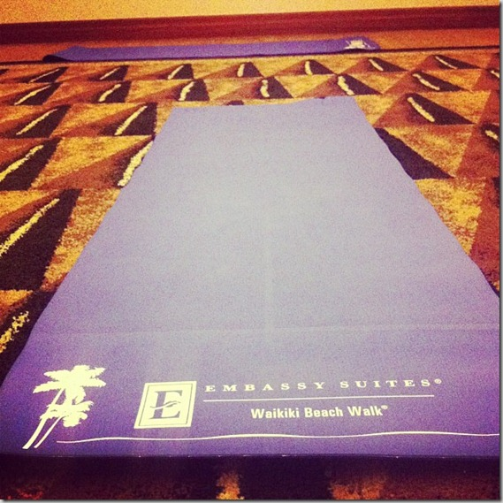 Embassy Suites Yoga Waikiki