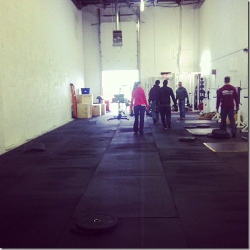 Moving Day for CrossFit 781
