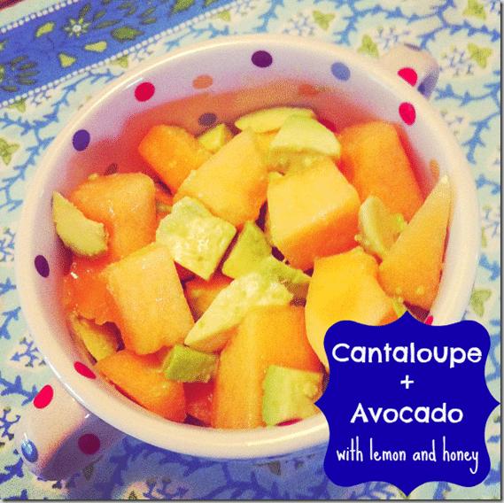 cantaloupe_ _avocado
