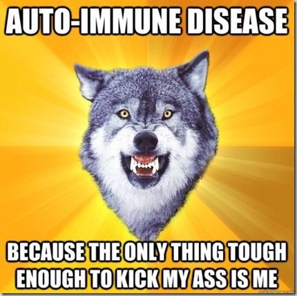 Autoimmune Wolf
