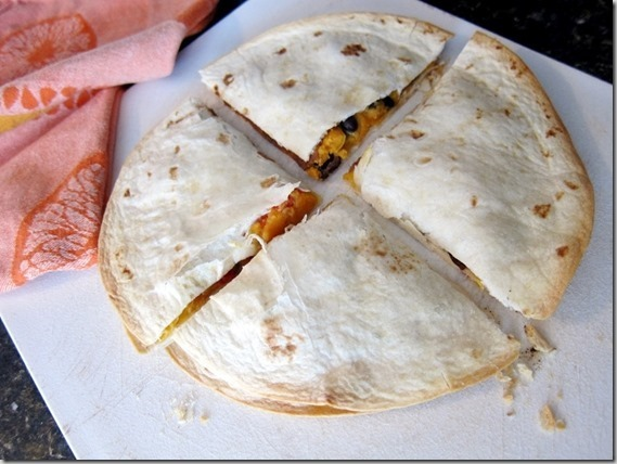 Sweet Potato & Black Bean Quesadilla_thumb