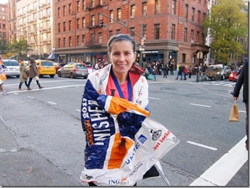 new york city marathon finish