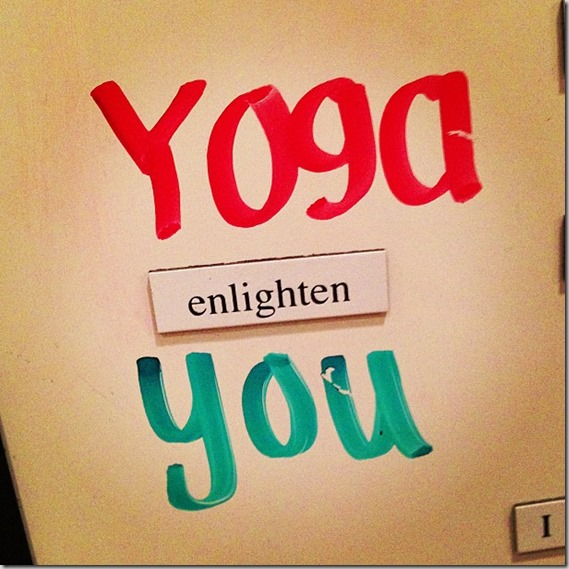 yoga enlighten you