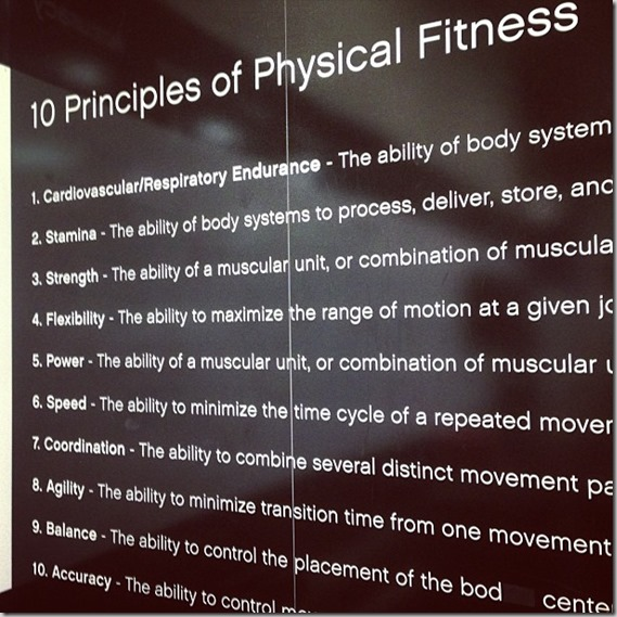 10 Principles of Physical Fitness