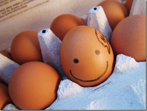 one happy egg
