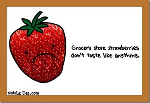 Comic Natalie Dee Strawberry