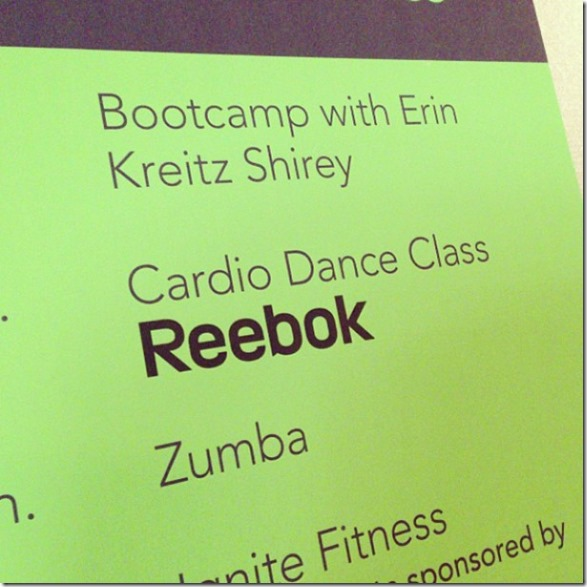 cardio dance reebok