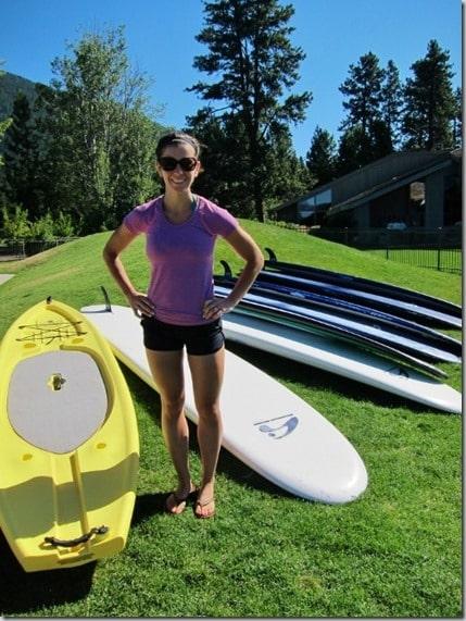 paddle boarding in Oregon