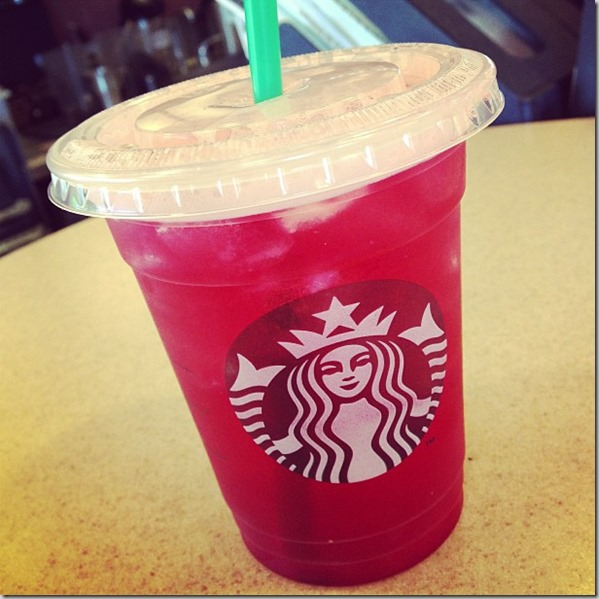 starbucks passfruit iced tea