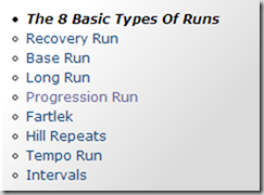 8_basic_types_of_runs