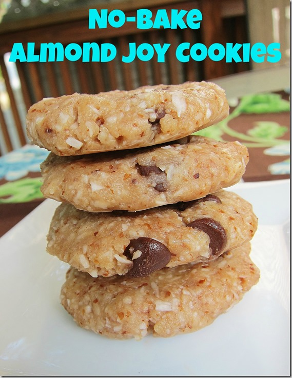 No-Bake Almond Joy fCookies