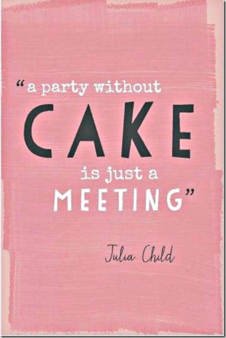julia child cake