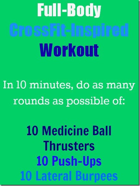 full-body CrossFit-inspired workout