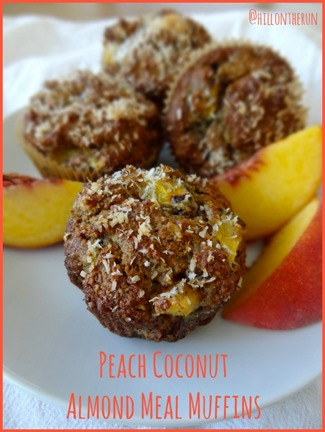 Peach Coconut Almond Meal Muffins – Carrots 'N' Cake