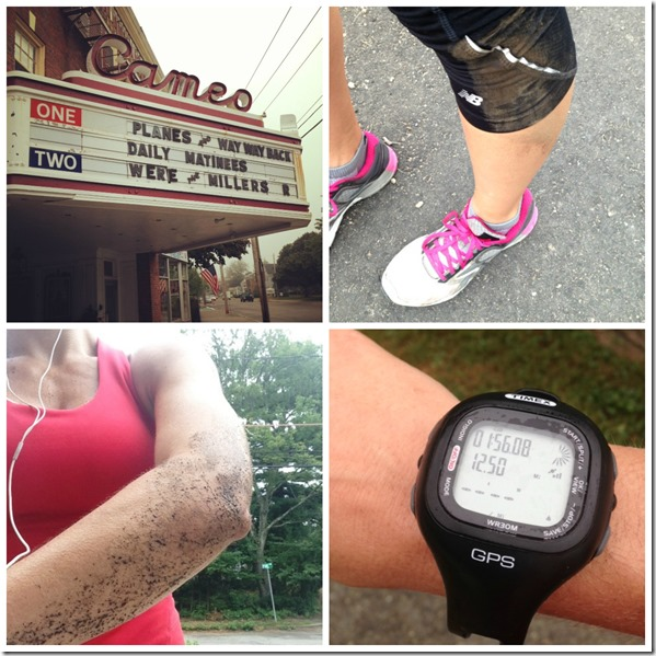 12.5 mile run
