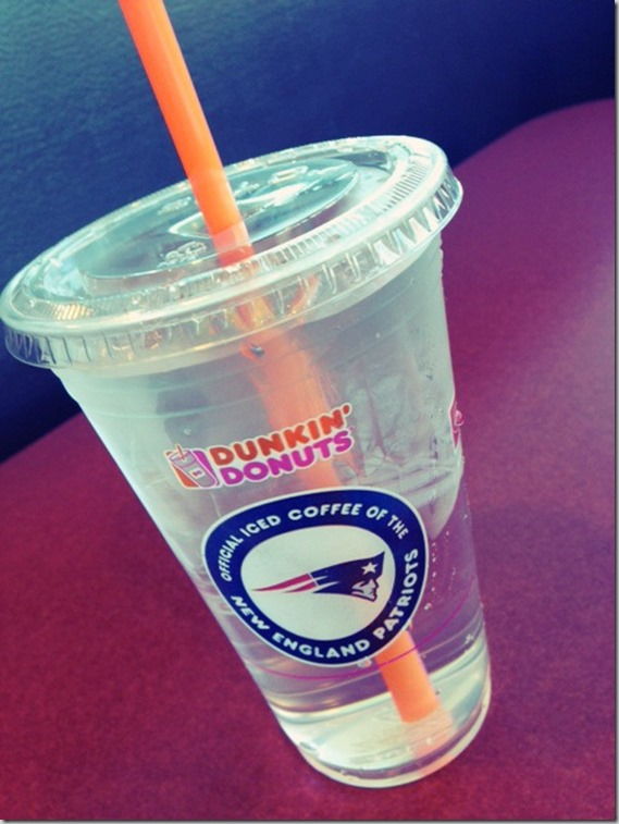 Dunkin' Donuts water