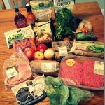 Weekly grocery shopping at Whole Foods
