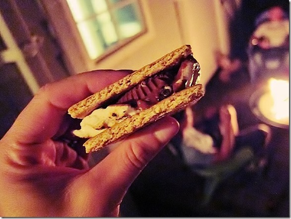 peanut butter cup s'more