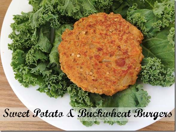 Sweet Potato & Buckwheat Burgers