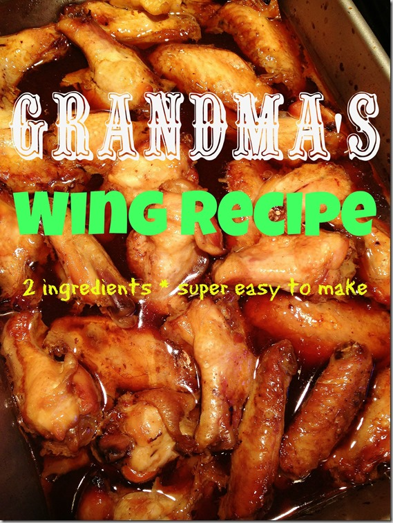 Grandma's Wing Recipe