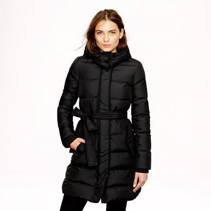 Puffy Long Coat - Coat Nj