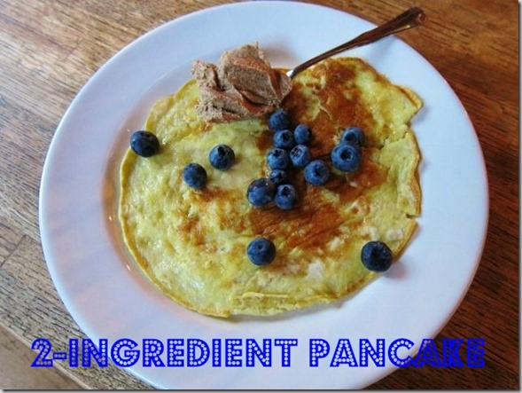 2-ingredient pancake