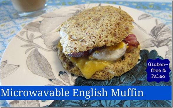 gluten-free microwave-able english muffin