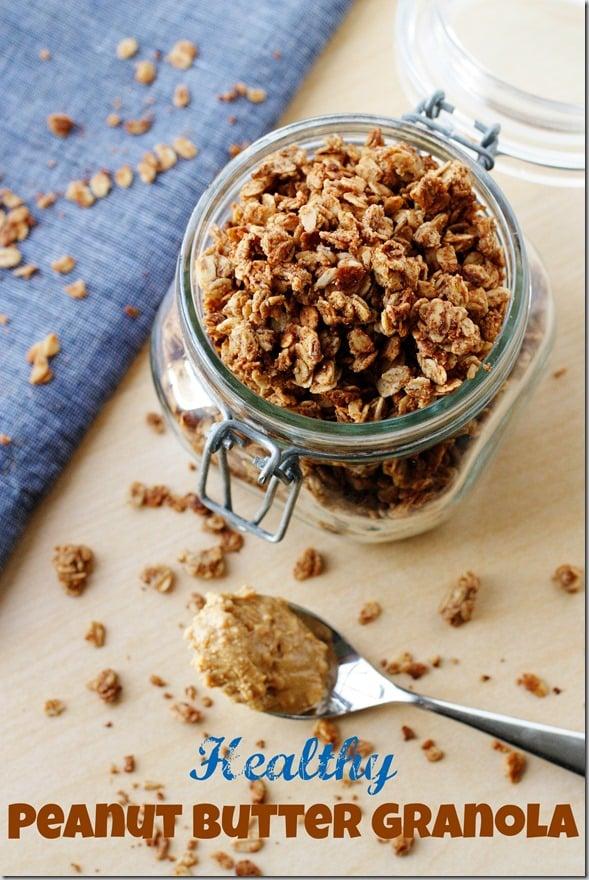 Healthy Peanut Butter Granola