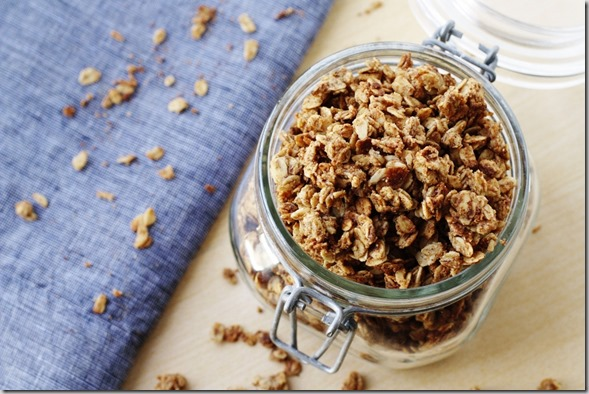 You really must make this granola. It's that amazing. Just try not ...