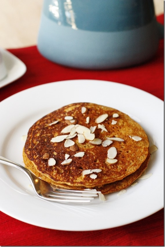 Maple-Cinnamon Sweet Potato Pancake