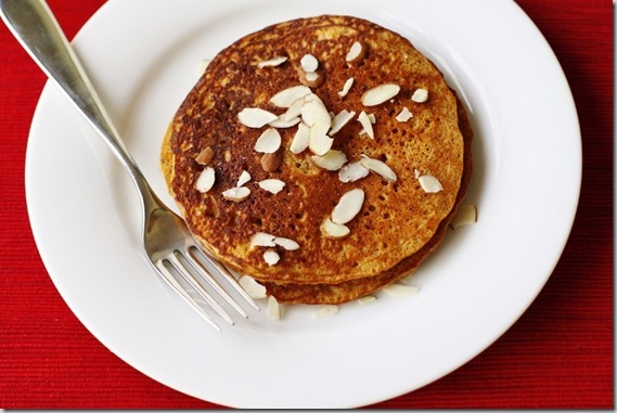 Maple-Cinnamon Sweet Potato Pancakes