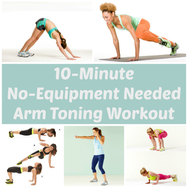 No Equipment Arm Toning Workout