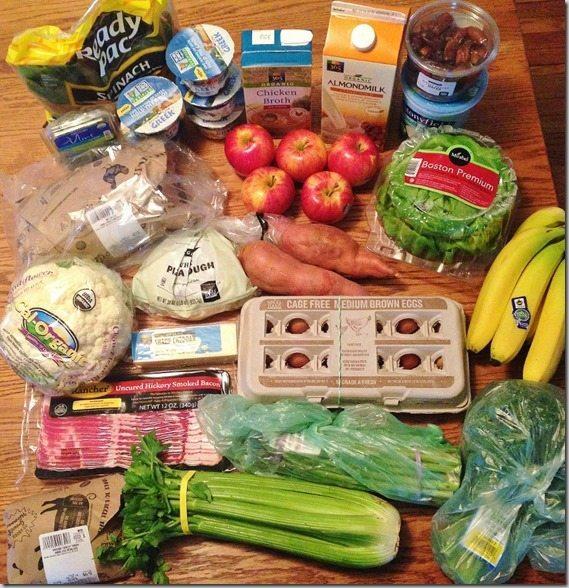 Weekly Meal Plan Groceries From Whole Foods Week 6 Carrots N