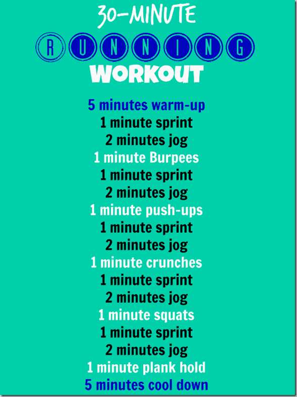 30 Minute Running Workout