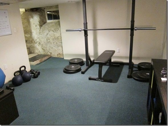 Again Faster CrossFit home gym